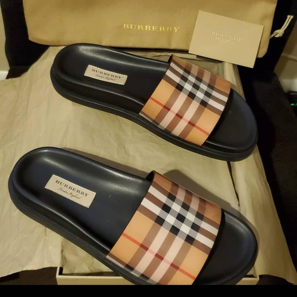 Burberry Shoes | Burberry Slides Womens